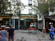 The famous Shakespeare & Company bookstore